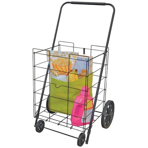 Helping Hand FQ39520FD 4-Wheel Deluxe Folding Cart - Peazz.com