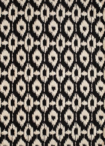 Momeni HEAVEHE-02BLK2030 Chinese Hand Tufted Heavenly Collection Black Finish Rugs