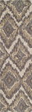 "Momeni HEAVEHE-03GRY2380 Chinese Hand Tufted Collection Grey Finish Runner 2'3""X8'"