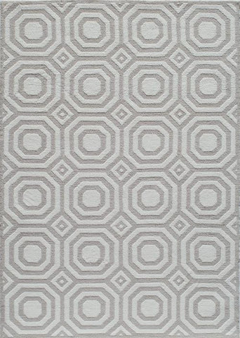 Momeni HEAVEHE-26GRY5070 Chinese Hand Tufted Heavenly Collection Grey Finish Rugs