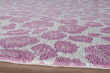 "Momeni HEAVEHE-28PNK2380 Chinese Hand Tufted Collection Pink Finish Runner 2'3""X8'"