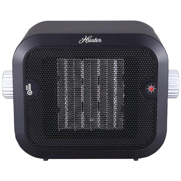 Hunter Fan Company PC-003BK Retro Ceramic Space Heater (Black)