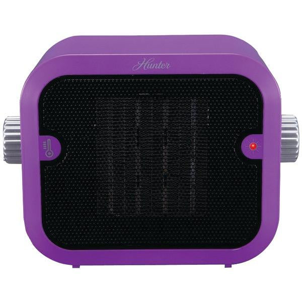 Hunter Fan Company PC-003PU Retro Ceramic Space Heater (Purple)