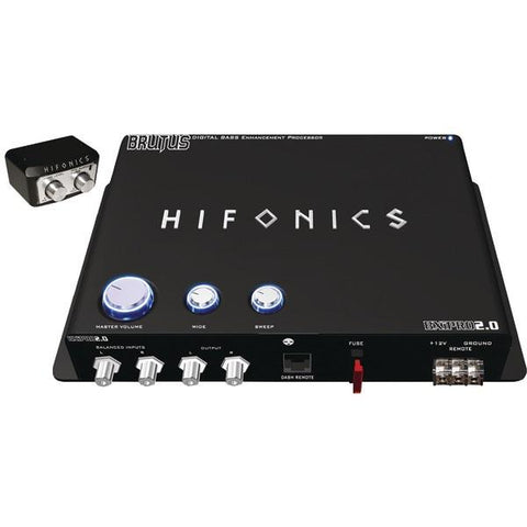 Hifonics BXIPRO 2.0 BXiPro 2.0 Digital Bass Enhancement Processor with Noise-Reduction Circuit - Peazz.com