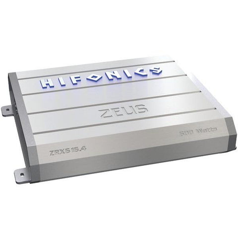 Hifonics ZRX616.4 Zeus 4-Channel Super A/B Class Amp (600 Watts) - Peazz.com