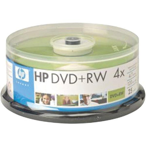 HP DRW04025CB 4.7GB DVD+RWs, 25-pk Spindle - Peazz.com