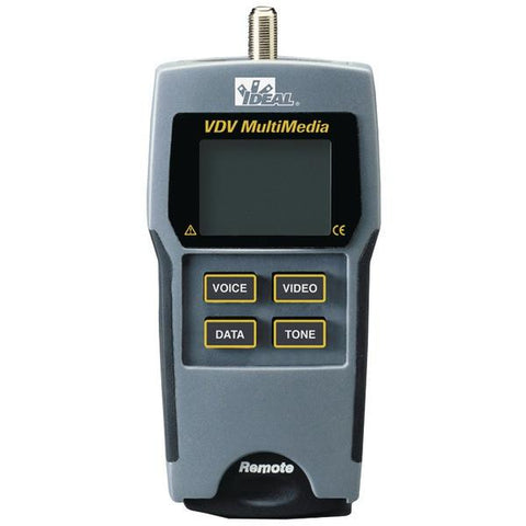 IDEAL 33-856 VDV Multimedia Cable Tester - Peazz.com
