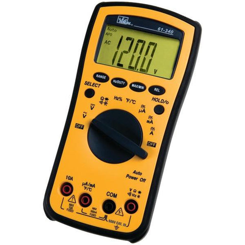 IDEAL 61-340 Test-Pro Multimeter - Peazz.com