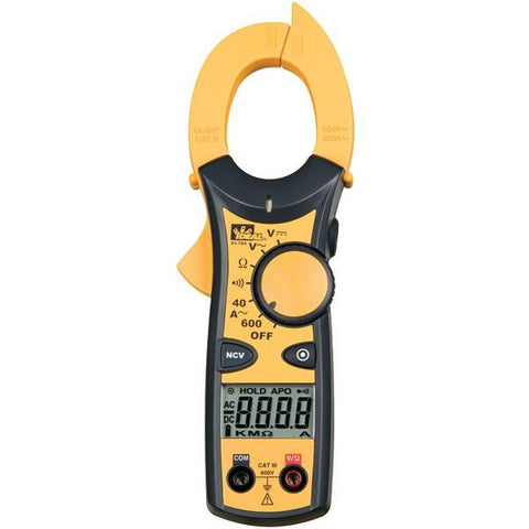 IDEAL 61-744 600-Amp Clamp-Pro Clamp Meter - Peazz.com