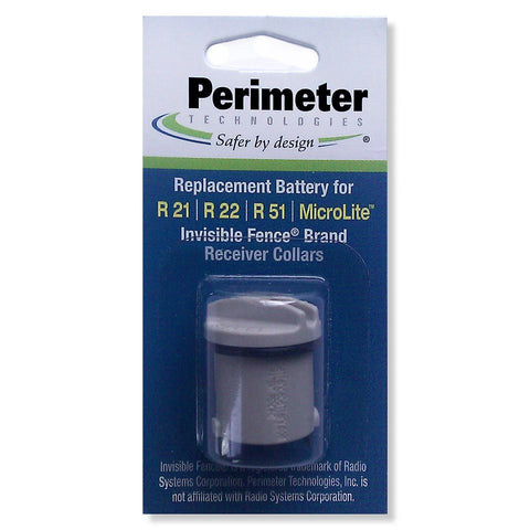 Perimeter Technologies IFA-001 Invisible Fence Compatible R21 and R51 Dog Collar Battery