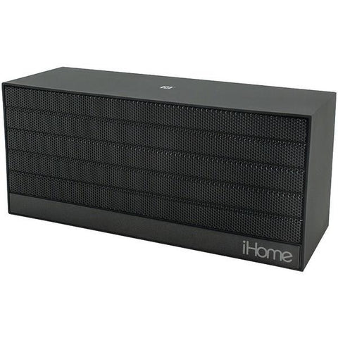 iHome iBN27BX Bluetooth Rechargeable Stereo Mini Speaker with NFC (Black) - Peazz.com