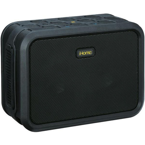 iHome IBN6BXXC Water-Resistant Bluetooth Stereo Speaker with Speakerphone & NFC - Peazz.com