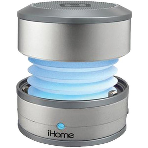 iHome IBT59SY Color-Changing Bluetooth Portable Mini Speaker System - Peazz.com