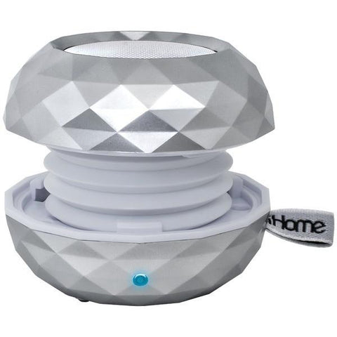 iHome iBT66SC Rechargeable Bluetooth Color-Changing Mini Speaker System - Peazz.com