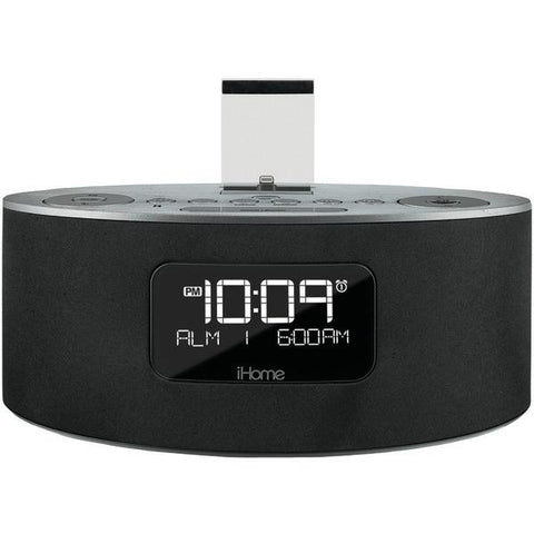 iHome iDL46GC Dual-Charging Stereo FM Clock Radio with Lightning Connector - Peazz.com