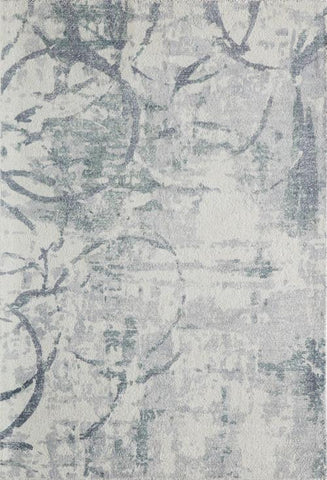 Momeni ILLUSIL-01GRY2030 Indian Hand Tufted Illusions Collection Grey Finish Rugs