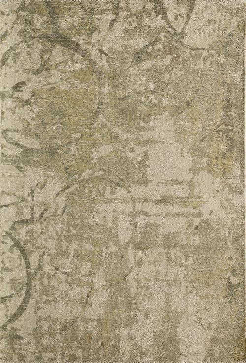 Momeni ILLUSIL-01OGN80B0 Indian Hand Tufted Collection Olive Grn Finish Rugs 8'X11'