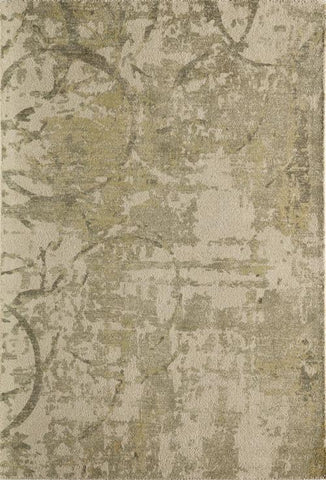 Momeni ILLUSIL-01OGN80B0 Indian Hand Tufted Illusions Collection Olive Grn Finish Rugs