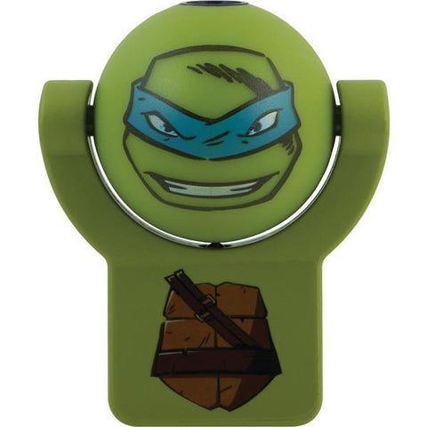 Nickelodeon 10302 Projectable Light-Sensing Night-Light (Teenage Mutant Ninja Turtles Leonardo) - Peazz.com