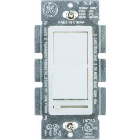 GE 10464 Single Pole Rocker-Style Dimmer - Peazz.com