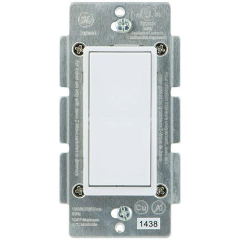 GE 12723 Z-Wave In-Wall 3-Way Add-on Paddle Switch - Peazz.com