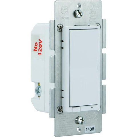 GE 12724 Z-Wave In-Wall CFL-LED Dimmer Switch - Peazz.com