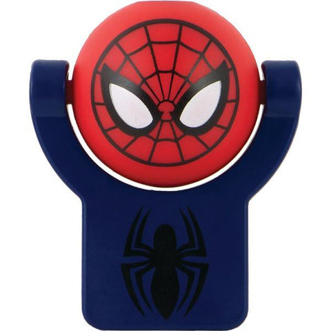 MARVEL 13341 Marvel Superhero Projectable Night-Light (Marvel Spider-Man) - Peazz.com