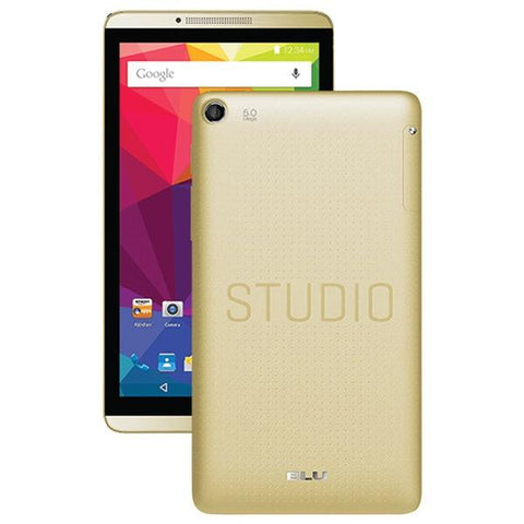 BLU Products S480UGLD Studio 7.0 II (Gold) Smartphone - Peazz.com