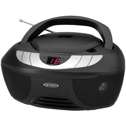 Jensen CD-475 Portable Stereo CD Player with AM/FM Radio - Peazz.com