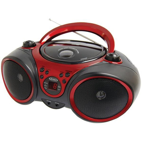 Jensen CD-490 Portable Stereo CD Player with AM/FM Stereo Radio - Peazz.com