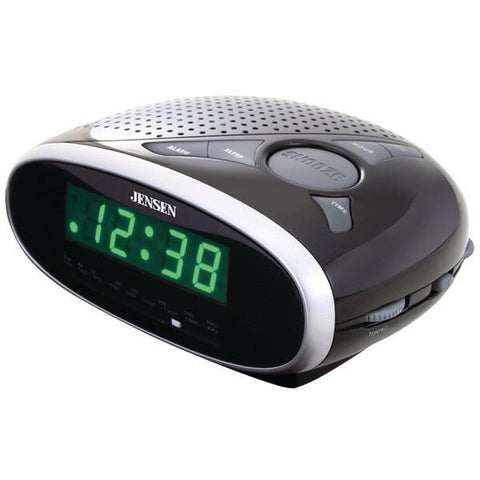 Jensen JCR-175 AM/FM Alarm Clock Radio - Peazz.com