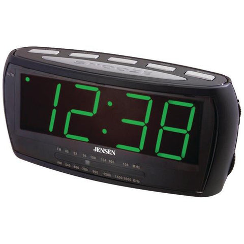 Jensen JCR-208 AM/FM Alarm Clock Radio - Peazz.com