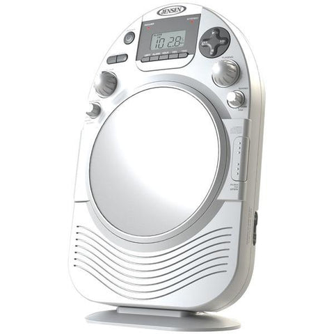 Jensen JCR-525 AM/FM Stereo Shower Radio with CD - Peazz.com