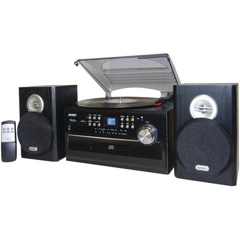 Jensen JTA-475 3-Speed Turntable with CD, Cassette & AM/FM Stereo Radio - Peazz.com