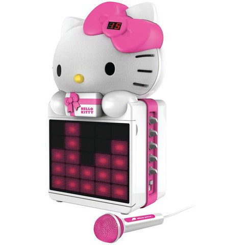 Hello Kitty KT2008B Karaoke System with LED Light Show - Peazz.com