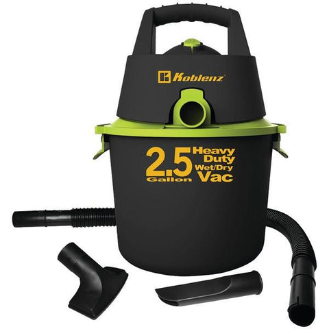 Koblenz WD-2.US 2.5-Gallon Wet/Dry Vacuum - Peazz.com