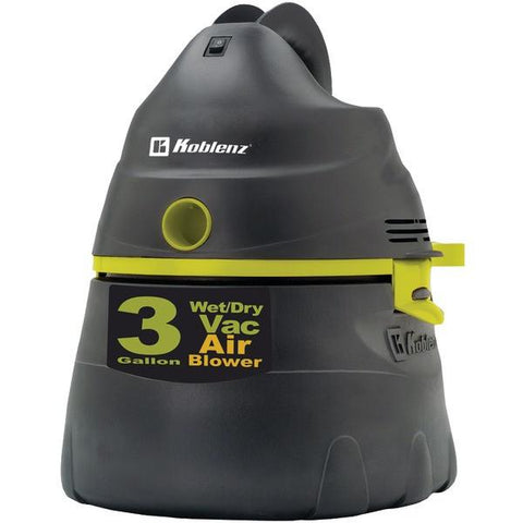 Koblenz WD-353 K2G US All-Purpose Power Vacuum with 3-Gallon Tank - Peazz.com