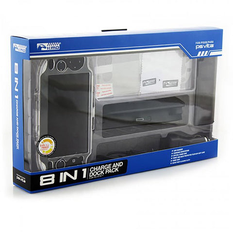 PS Vita 8 in 1 Charge and Dock Travel Pak (KMD-PSV-554)