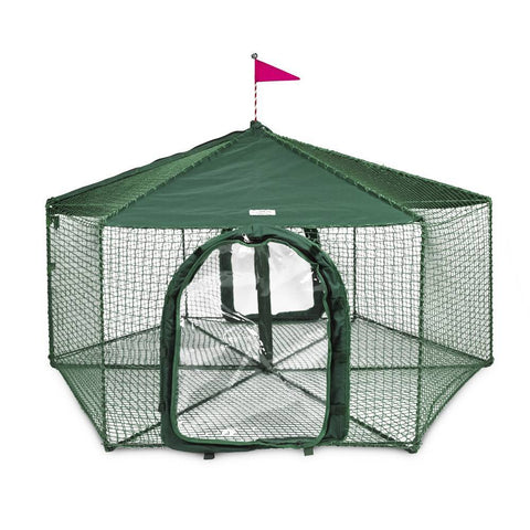 Kittywalk KWGAZ1 Gazebo Yard and Garden Outdoor Cat Enclosure
