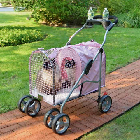 Kittywalk KWPSPINKSUV 5th Ave Pet Stroller SUV