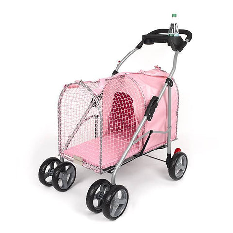 Kittywalk KWPSPINK 5th Ave Pet Stroller