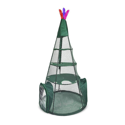 Kittywalk KWTSP501 Teepee Outdoor Cat Enclosure