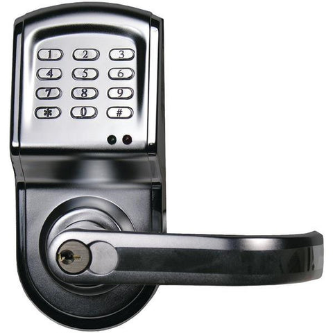 Linear 212LS-C26DCR-RT Electronic Access Control Cylindrical Lockset with Right-Hand Opening - Peazz.com