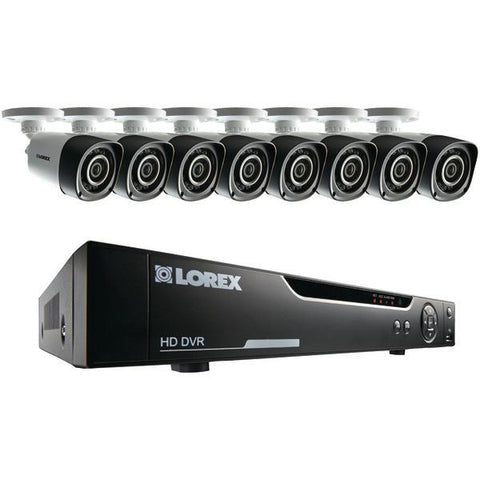 Lorex LHV10162TC8 16-Channel 720p HD Security System with Eight 720p HD Cameras - Peazz.com