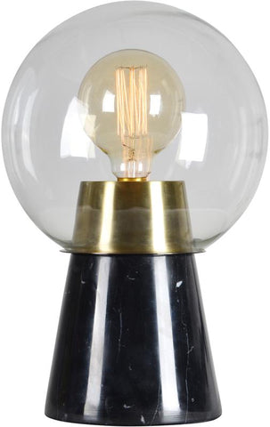 Ren-Wil LPT843 Oswald Collection Antique Brass and Black Finish