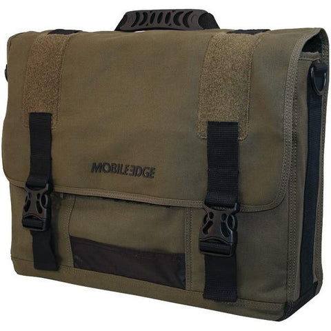 "Mobile Edge MECME9 17.3"" ECO Messenger Bag (Green) - Peazz.com"