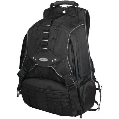 "Mobile Edge MEBPP1 17.3"" Premium Notebook Backpack (Black/Charcoal) - Peazz.com"