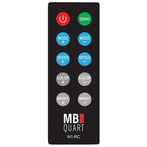 MB Quart N1-RC N1-RC Wireless RF LED Light Remote - Peazz.com