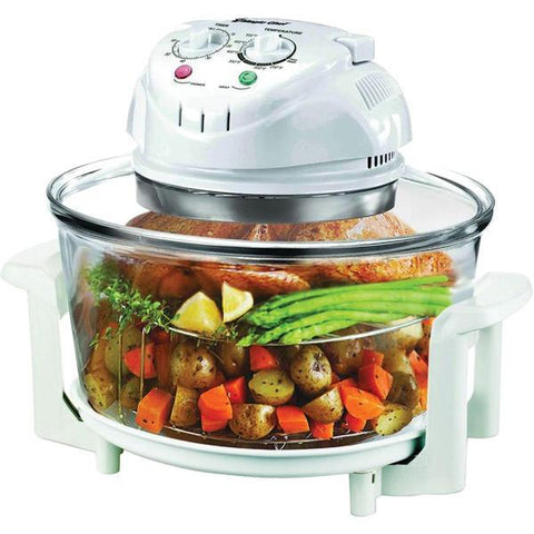 Magic Chef EWGC12W3 Glass Bowl Convection Oven - Peazz.com