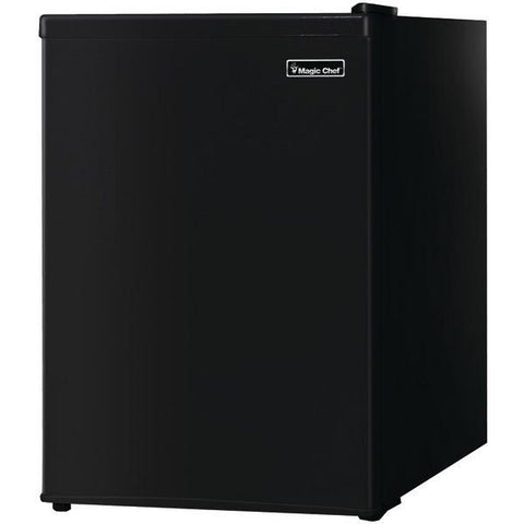 Magic Chef MCBR240B1 2.4 Cubic-ft Refrigerator (Black) - Peazz.com